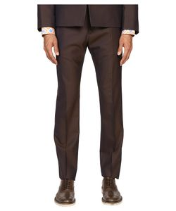 Vivienne Westwood | Basic Wool Classic Trousers /Green Mens Casual Pants
