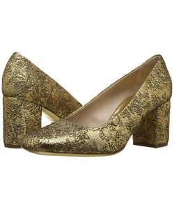 Michael Kors | Gigi Runway /Black /Brocade/Metallic Nappa Womens Shoes