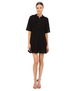M Missoni | Solid Fancy Knit Button Dress Womens Dress