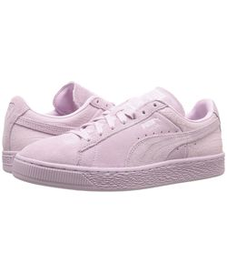 Puma | Suede Classic Emboss Lilac Snow Womens Basketball Shoes