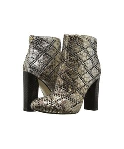 Calvin Klein | Jamine Foiled Snake Print Leather Womens Shoes
