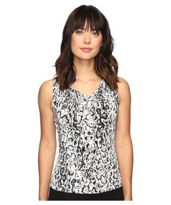 Calvin Klein | Printed Drape Neck Cami Multi Womens Sleeveless