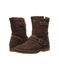Hush Puppies   Aydin Catelyn Chocolate Suede Womens Boots