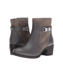 Hush Puppies | Fondly Nellie Smoke Leather/Suede Womens Boots