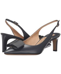 Salvatore Ferragamo | Mimmi Fumee Nappa Leather High Heels