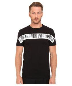 McQ   Short Sleeve Crew Tee Darkest Mens T Shirt