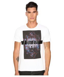 Just Cavalli   Slim Fit Tiger Jersey T-Shirt Mens T