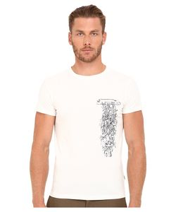 Marc Jacobs   Slim Fit Classic Jersey Tee Snow Mens