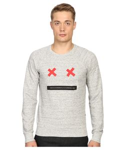 Marc Jacobs | Slim Fit French Terry Sweater Grey Melange Mens