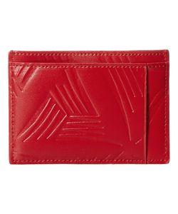 Marni | Flower Embossed Leather Card Holder Wallet Handbags