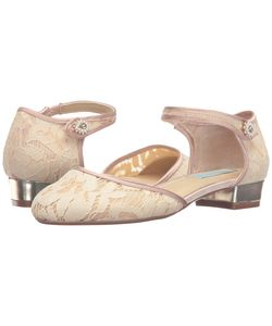 Blue by Betsey Johnson | Lila Champagne Fabric Womens Flat Shoes
