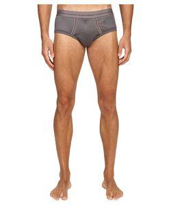 Dolce & Gabbana | Dolce Amp Gabbana Knitted Cotton Brando Brief Grey Mens Underwear
