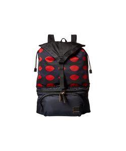 Marni | Printed Nylon Backpack Dark Backpack Bags