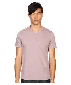 Vince | Pima Short Sleeve Classic V-Neck Dusk Sky Mens Clothing