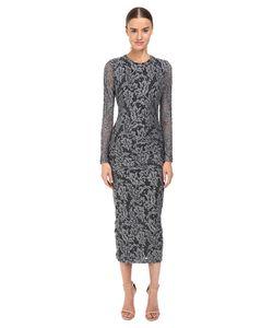 Just Cavalli | Lace Overlay Midi Dress Womens Dress