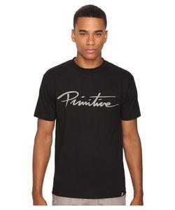 Primitive | Nuevo Script Tee Mens T Shirt