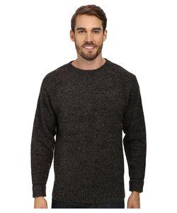 Pendleton | Shetland Crew Sweater Charcoal Mix Sweater