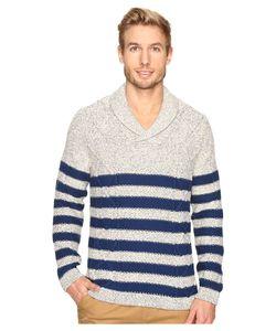 Nautica | 3 Gauge Shawl Pullover Marshmallow Sweater