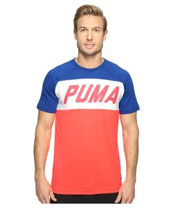Puma | Color Block Tee Bright Plasma T Shirt