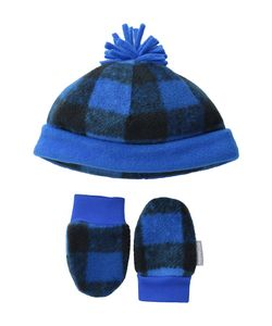 Columbia | Frosty Fleece Hat Mitten Set Infant Super Buffalo Print