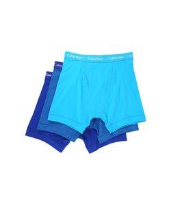 Calvin Klein Underwear | Cotton Stretch Boxer Brief 3-Pack Nu2666 Prussian/