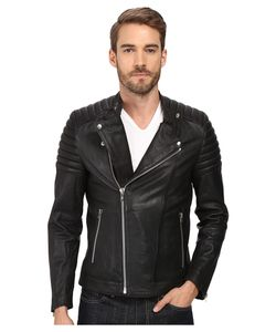 Goosecraft | Sheep Skin Bristol Biker Jacket Mens Coat