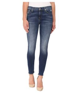 7 For All Mankind | The Ankle Skinny W Distress In