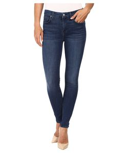 7 For All Mankind | The Ankle Skinny W Tonal Squiggle
