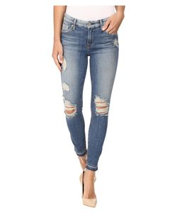 7 For All Mankind | The Ankle Skinny W Released Hem