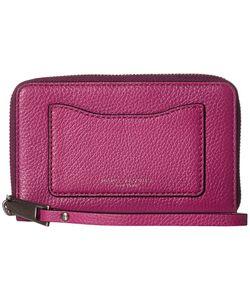 Marc Jacobs | Recruit Zip Phone Wristlet Wild Berry Wristlet Handbags