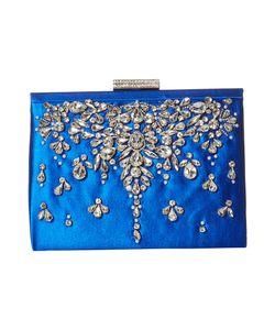Badgley Mischka   Adele Sapphire Clutch Handbags