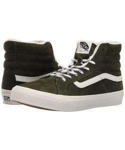 Vans   Sk8-Hi Slim Scotchgard Duffel Bag/Blanc De Blanc Skate Shoes