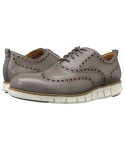Cole Haan   Zerogrand Wingtip Oxford Ii Storm Cloud Shoes