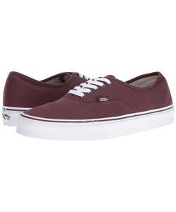 Vans   Authentic Iron True Skate Shoes