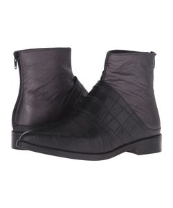 Mm6 Maison Margiela | Laye Chelsea Boot /Gunmetal Leather Womens Boots