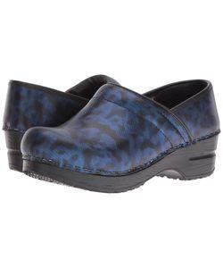 Sanita | Original Pro Cobalt Camo Clog Shoes
