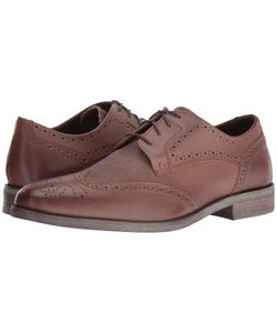 Stacy Adams   Bastian Wingtip Oxford Cognac Lace Up Wing