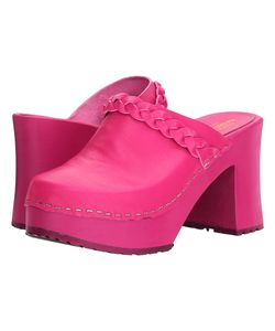 Swedish Hasbeens | Laila Neon Neon Clog Shoes