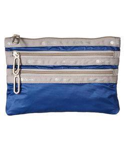 LeSportsac   Classic 3-Zip Pouch Aster Wallet