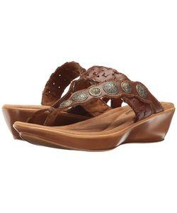 Minnetonka | Mackenna Whiskey Leather Womens Shoes