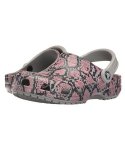 Crocs | Classic Snake Graphic Clog Light Clog/Mule Shoes
