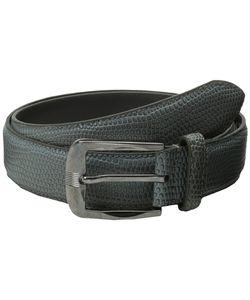 Stacy Adams   32mm Lizard Skin Embossed Leather Belts
