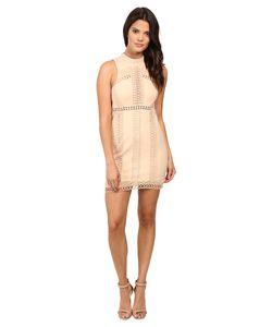 Free People | Sky Scraper Mini Dress Nude Dress