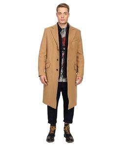 Vivienne Westwood | Woven Herringbone Castle Coat Camel Coat