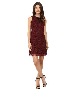 rsvp | Aanya Sleeveless Lace Dress Wine Womens Dress