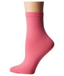 Wolford | Velvet 66 Socks Peony Crew Cut Socks Shoes