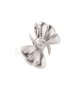 Stephen Webster   Forget Me Knot Bow Ring Sterling Diamonds