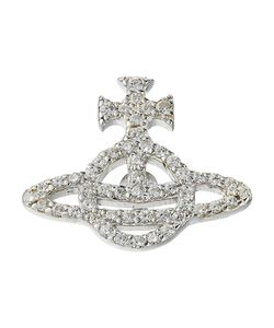 Vivienne Westwood | Calliope Clutch Pin Crystal Cubic Pendants Pins