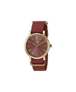 Timex | Originals Tonal Marsala Nylon Slip-Thru Strap Watches