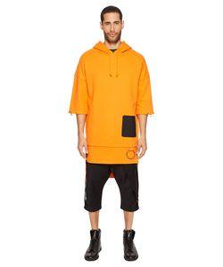 D.Gnak | 1/2 Sleeve Hoodie Mens Sweatshirt